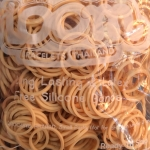 100% Silicone Loom Bands สีเบจ 600 เส้น ( # 23 )