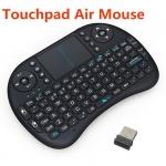 Air Mouse i8 ระบบสัมผัส พร้อมแป้นคีบอร์ด Android - สีดำ