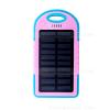 แบตเตอรี่สำรอง OOP 50000mAh ไฟฉาย LED Solar Charge - Pink สีชมพู