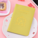 Passport Cover Yellow Lemon