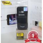 แบตเตอรี่สำรอง Dapad - Power Bank ความจุ 5200 mAh - สีดำ