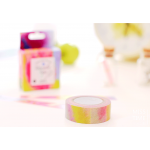 Miss Time Paper Tape Tatercolor Collection (Pink)