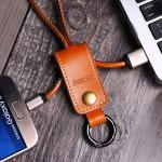 สายชาร์จพวงกุญแจ Remax RC-034m Western for Micro USB - สีน้ำตาล