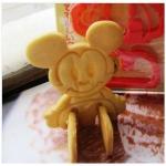 D.I.Y Mickey Mouse Toast Cutter พิมพ์กดขนมปัง(ปิ้ง)มิกกี้นั่งได้