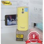 แบตเตอรี่สำรอง Dapad - Power Bank ความจุ 5200 mAh - สีเหลือง