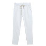 กางเกงฮาเร็ม เอวมีเชือกปรับระดับได้ สีขาว Size M