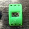 Watch Green (ตัวเรือนนาฬิกาข้อมือสีเขียว แบบตัวเลข ดิจิตอล สำหรับ ยางถักLoom Bands)