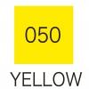 ปากกาสี 2 หัว ZIG CLEAN COLOR No.050 - Yellow