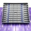 ปากกาสี 2 หัว ZIG CLEAN COLOR F No.030 - Blue