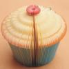 Cupcake 3D Notes กระดาษโน๊ตรูปคัพเค้กน่ารัก