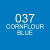 ปากกาพู่กัน ZIG CLEAN COLOR Real Brush - 037 Cornflour Blue