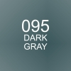 ปากกาพู่กัน ZIG CLEAN COLOR Real Brush - 095 Dark Gray