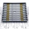 ปากกาสี 2 หัว ZIG CLEAN COLOR F - Metallic Gold