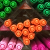 ปากกาสี 2 หัว Monami Live Color No.10 - Orange