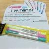 Set 3 สี - ปากกาไฮไลท์ Twinliner SOFT Pastel