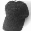 หมวกแก๊บผ้าขนสีดำ