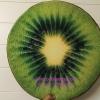 เบาะรองนั่ง 3D เกรด A รูปผลไม้ กีวี่ สีสันสวย ใช้ได้ทนนาน ถอดซักได้ ราคาถูกสุดๆ