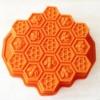 แม่พิมพ์ รูปรวงผึ้ง 19 ช่อง ขนาด 5.1x6x2cm
