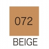 ปากกาสี 2 หัว ZIG CLEAN COLOR No.072 - Beige