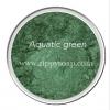 Mica เขียวเข้ม เหลือบทอง Aquatic Green 30g