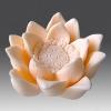 แม่พิมพ์ซิลิโคน รูปดอกบัว 3D
