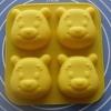 แม่พิมพ์ รูปหมีพห์ 4 ช่อง