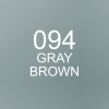 ปากกาพู่กัน ZIG CLEAN COLOR Real Brush - 094 Gray Brown