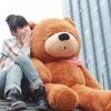 ตุ๊กตาหมีสีน้ำตาลเข้มหล้บตา1.8เมตร