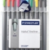 STAEDTLER Triplus 334 Set 10 Colors