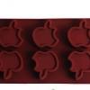 แม่พิมพ์ซิลิโคน รูปแอปเปิ้ล 6 ช่อง