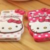ขายส่ง : Case iPhone 5/5s , 4/4s Hello Kitty ห้อยตุ้งติ้ง น่ารัก