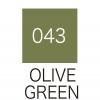 ปากกาสี 2 หัว ZIG CLEAN COLOR No.043 - Olive Green