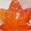 แม่พิมพ์ รูปใบเมเปิ้ล 5 หลุม (100 g)
