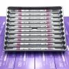 ปากกาสี 2 หัว ZIG CLEAN COLOR F No.027 - Dark Pink