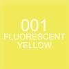 ปากกาพู่กัน ZIG CLEAN COLOR Real Brush - 001 FL. Yellow