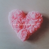 แม่พิมพ์ รูปหัวใจ-ดอกกุหลาบ 100 g