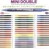 Set 50 สี - ปากกาสี 2 หัว MINI DOUBLE