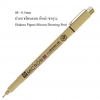 ปากกาเขียนเเบบ Sakura Pigma Micron No.08 - 0.5 mm - Black