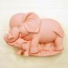แม่พิมพ์ซิลิโคน รูปช้างแม่ลูก (110 g)
