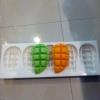 แม่พิมพ์ รูปมะม่วงผ่า 5หลุม(110 g) 6.5*11*2.5 cm