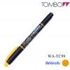 Tombow Kei-coat Twin Head Highlighter - YellowOrange สีเหลืองส้ม