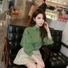 เสื้อเชิ้ตแขนพอง สีเขียว(Green)