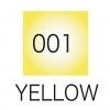 ปากกาสี 2 หัว ZIG CLEAN COLOR No.001 - Yellow Fluorescent