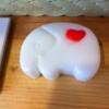 แม่พิมพ์ รูปช้างหัวใจ 5 ช่อง 100g
