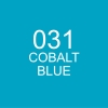 ปากกาพู่กัน ZIG CLEAN COLOR Real Brush - 031 Cobalt Blue