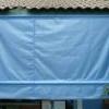 ผ้าใบชักรอก ขนาด กว้าง 3เมตร สูง 3เมตร (ไม่รวมเสาค้ำ)