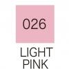 ปากกาสี 2 หัว ZIG CLEAN COLOR No.026 - Light Pink