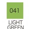 ปากกาสี 2 หัว ZIG CLEAN COLOR No.041 - Light Green