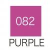 ปากกาสี 2 หัว ZIG CLEAN COLOR No.082 - Purple