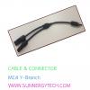 Cable & Connector (ตัวเชื่อมสายไฟ) แบบ MC4 -Y ฺBranch
